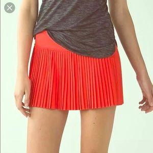 Lululemon Pleat to Street Skirt II